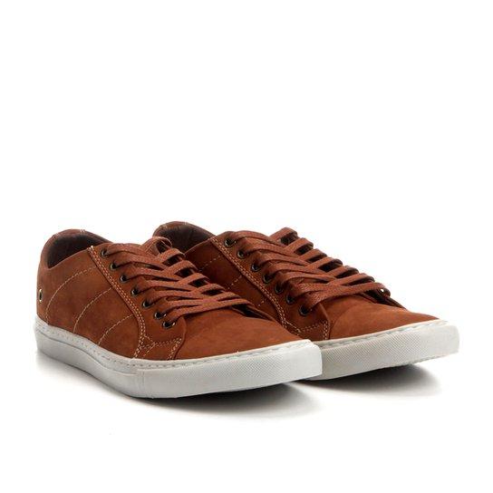 3831fc464d Sapatênis Couro Shoestock Nobuck Color Masculino - Caramelo - Compre ...
