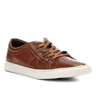 0d9b1fa36b Sapatênis Couro Shoestock Liso Masculino