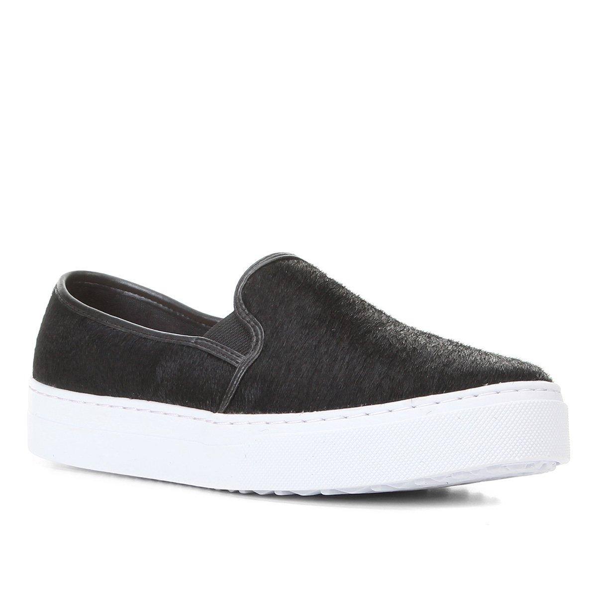 Slip On Shoestock Pelo Liso Feminino
