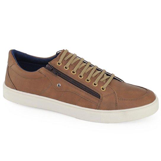 212423e4f Sapatênis Meu Sapato Ziper - Caramelo | Zattini