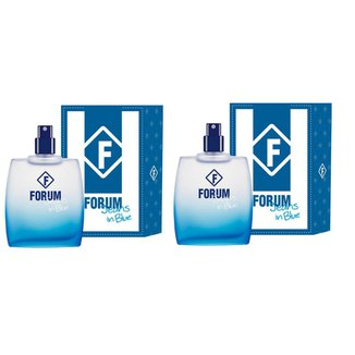 2 Perfumes Forum Jeans in Blue 50 ml