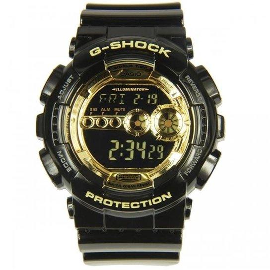 e8ee9ad2ab3 Relógio Casio Masculino G-Shock GD-100GB-1DRU - Compre Agora