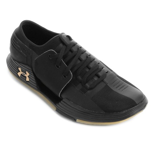848b30cd862 Tênis Under Armour Speedform AMP 2.0 Masculino - Preto e Dourado ...