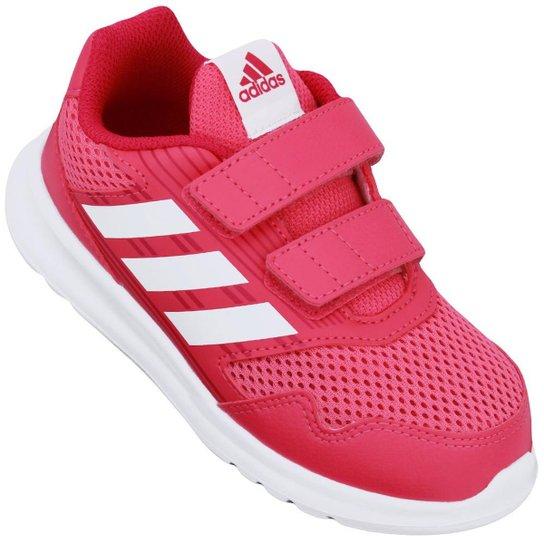 1cf557298dd Tênis Infantil Adidas Altarun - Pink e Branco - Compre Agora