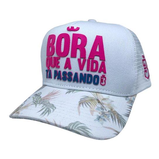 d8e7f288a12a0 Boné Trucker Bora Floral - Compre Agora