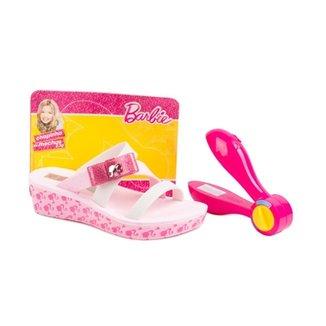 ac071ee306 Tamanco Grendene Com Laco Lateral - Grendha Barbie