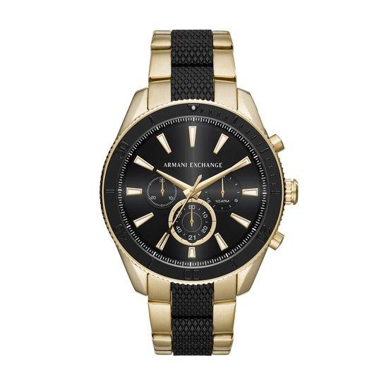 57193db846f40 Relógio Armani Exchange Masculino Enzo - AX1814 1DN AX1814 1DN - Preto +Dourado