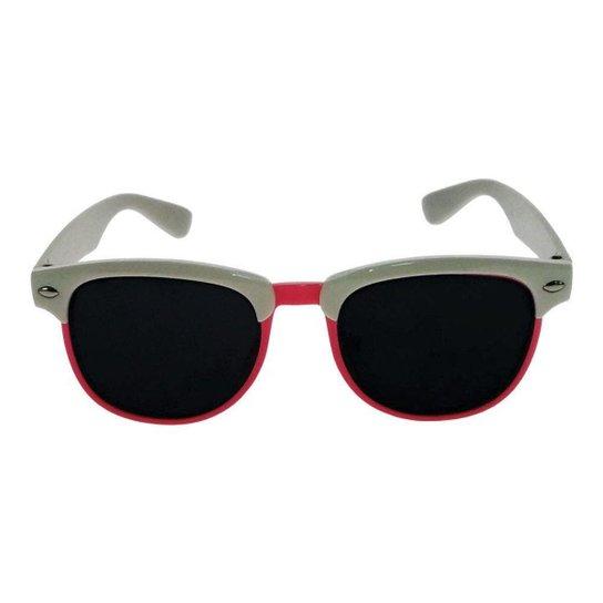 4707b6dd5 Óculos de Sol Khatto Infantil Perussi Feminino - Branco e Rosa | Zattini