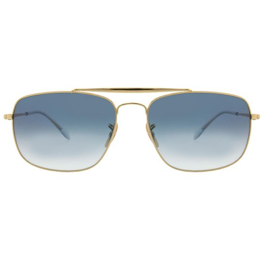 Óculos de Sol Ray-Ban The Colonel RB3560 -001 3F 61 - Preto e ... 96e94b1543