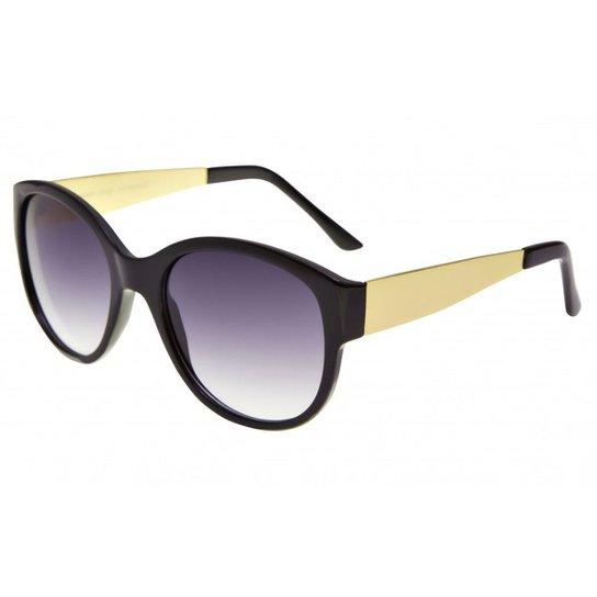 4c8155fcf6e06 Óculos Ray Flector Underground RF267CO - Preto e Dourado - Compre ...