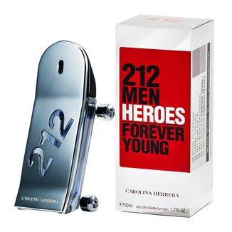 212 Men Heroes Carolina Herrera Eau de Toilette - Perfume Masculino 50ml