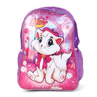 067c6f1a4 Mochila Infantil Escolar CLIO Gatinha -NN9103J