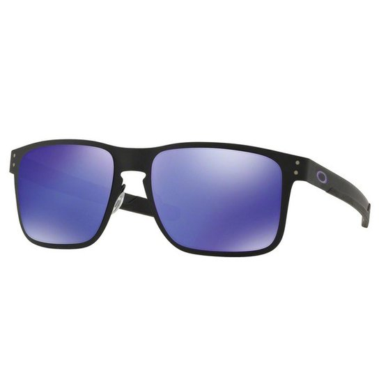 Óculos Oakley Holbrook Metal Matte  Lente Iridium Masculino - Lilás ... 06f9957c2c