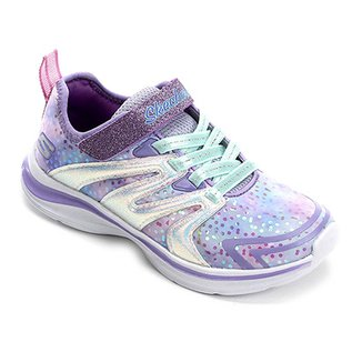 a430b48621b9b Tênis Infantil Skechers Double Dreams Unicorn Wishes