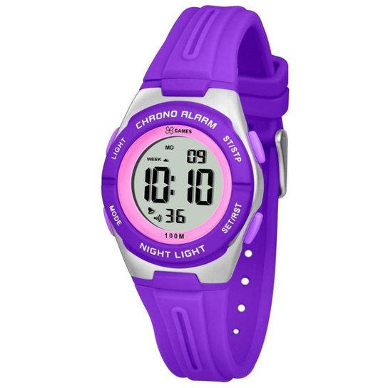 90188f5b4c2 Relógio Feminino X Games Xkppd047 Bxux Digital Rox - Compre Agora ...