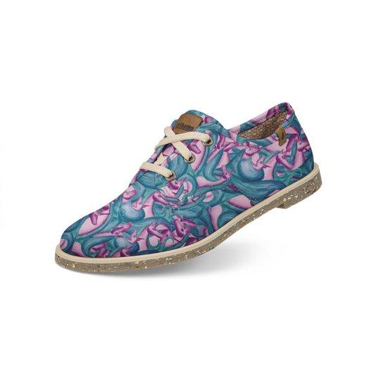 de2d19a6f9 Sapato Casual Usthemp Legend Vegano Estampa Unicórnio Feminino - Lilás