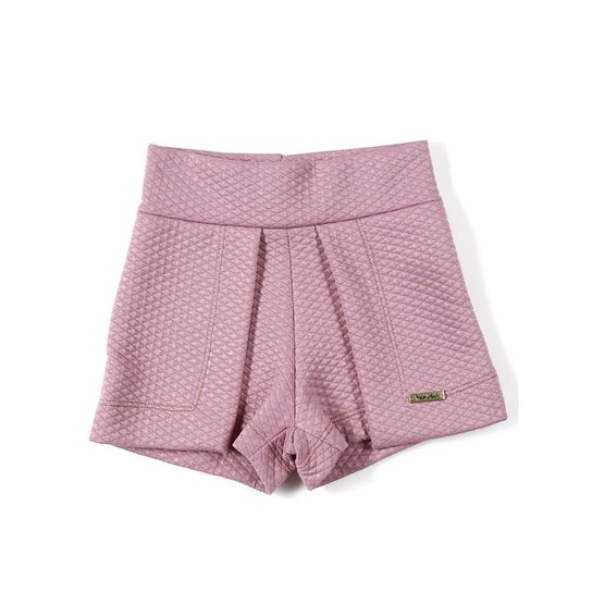 Short Infantil Para Menina - Lilás - Compre Agora  9be2729da407d