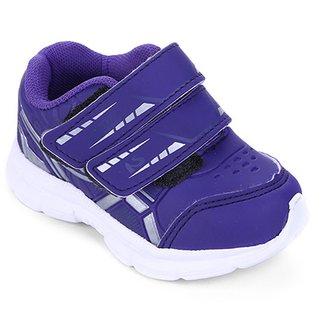 0ee0514bfb8 Tenis Infantil No Stress Running Velcro
