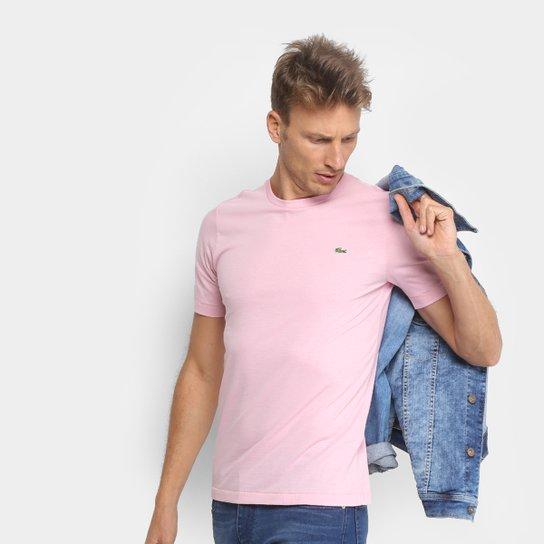 Camiseta Lacoste Live Masculina - Compre Agora   Zattini 1e1cb869e9
