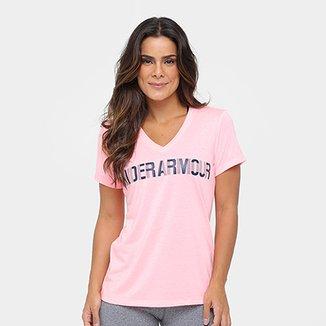 f86d38517b2 Camiseta Under Armour Threadborne Graphic Feminina