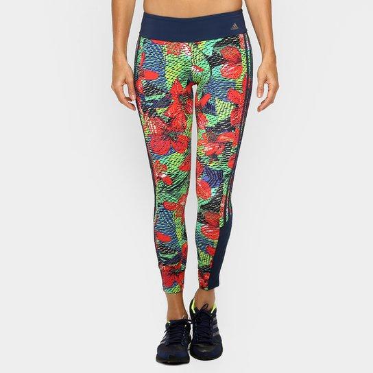 577d3cbc714 Calça Legging Adidas Salinas Feminina - Vermelho+Verde