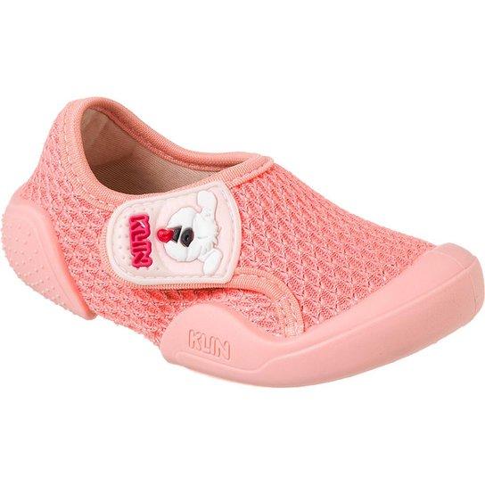 f0e33f3621 Tênis Bebê Klin New Comfort Feminino - Coral - Compre Agora