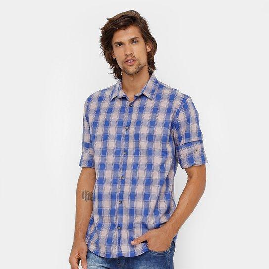Camisa Xadrez Colcci Slim Masculina - Compre Agora  33e5b9597fda4