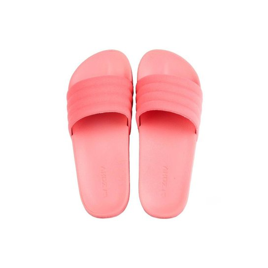 7915f17c7c Chinelo Grendene Zaxy Slide Evening Feminino - Coral - Compre Agora ...