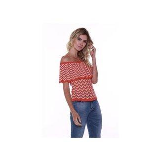 fb5e803ee6 Blusa Ciganinha Studio 21 Fashion Tricot