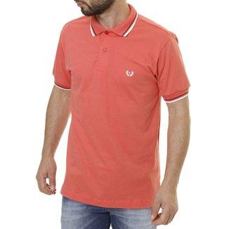 Camisa Polo Vilejack Manga Curta Masculina 8343b4441e72b