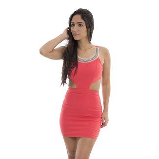 4819f119b2 Vestido Bengaline Rosa Fina
