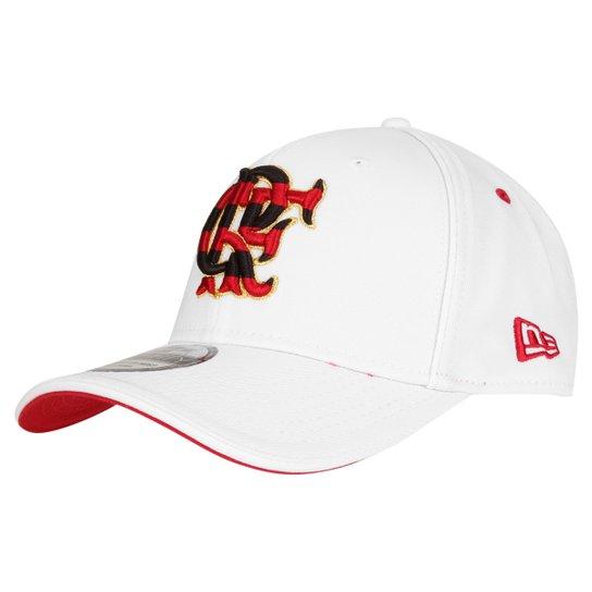 Boné New Era Flamengo 3930 - Branco+Vermelho 4fb1adb0d397e