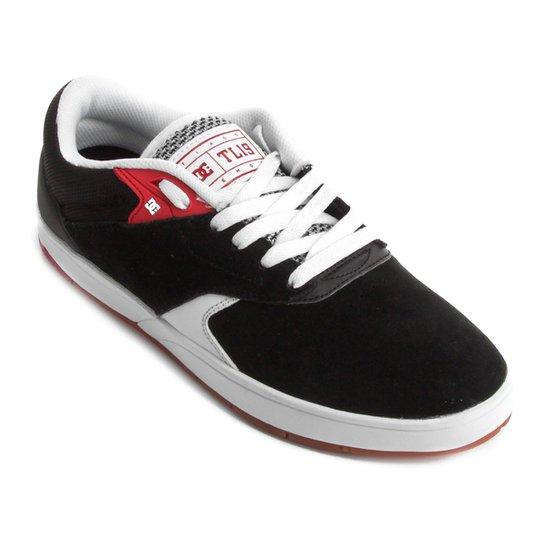 a22f525b93b5b Tênis Couro DC Shoes Tiago S Masculino - Preto e Branco - Compre ...