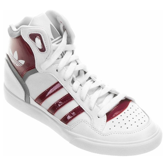 8ae95f92034 Tênis Adidas Extaball - Branco+Vermelho