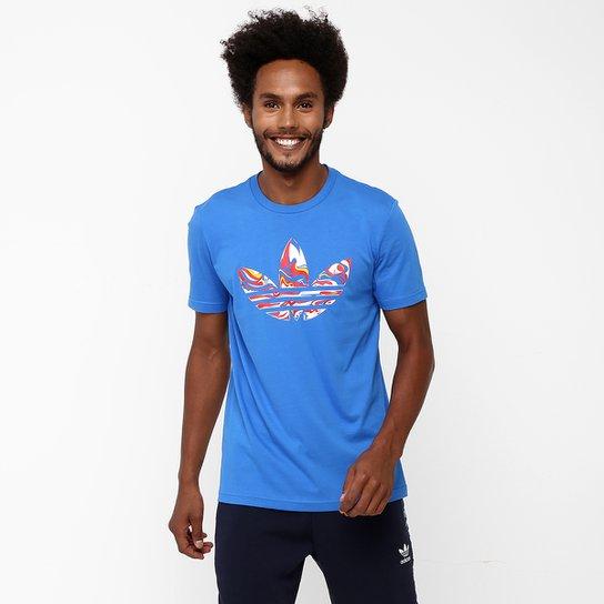 9468e553309 Camiseta Adidas Originals Magic Camo Trefoil - Compre Agora