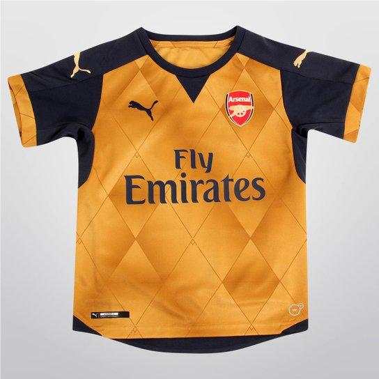 141fa5b760 Camisa Puma Arsenal Away 15 16 s nº Juvenil - Compre Agora