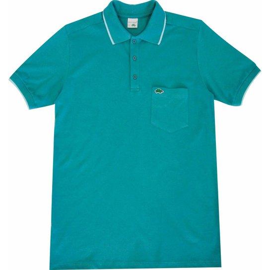 f30e25e0d1 Camisa Pau a Pique Polo - Azul Turquesa - Compre Agora