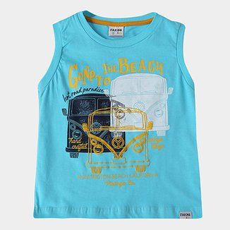 f4a9765803 Regata Infantil Fakini Kids To The Beach Masculina