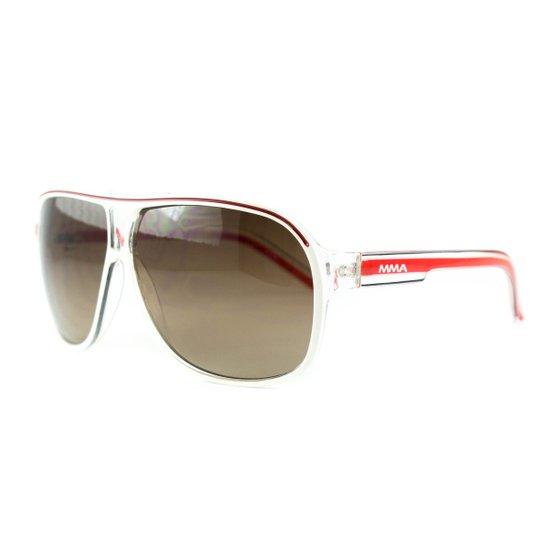 29d48b21c Óculos Atitude De Sol Mma - Branco+Vermelho
