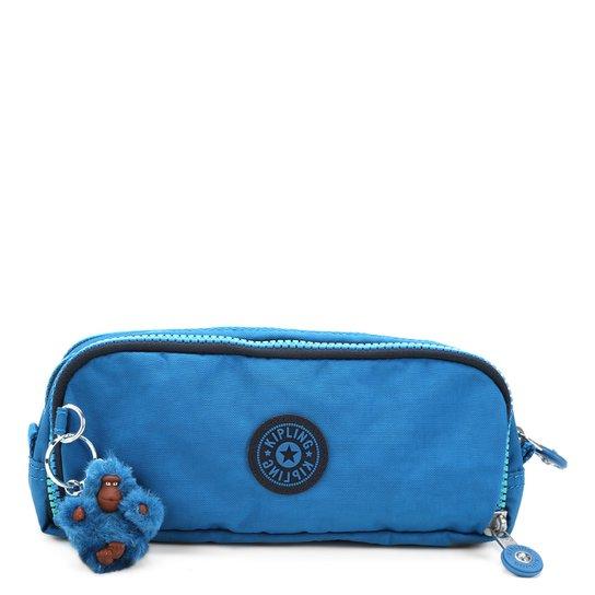 2b525887c Estojo Kipling Gitroy - Azul Turquesa