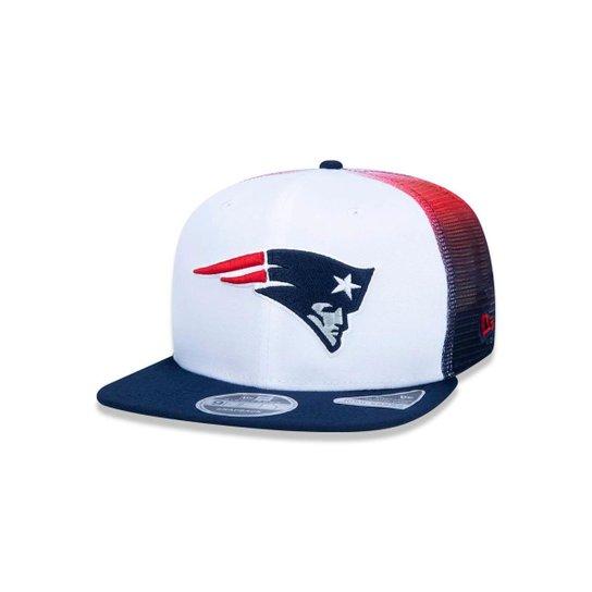 Boné 950 New England Patriots NFL Aba Reta New Era - Compre Agora ... 596546a7d2ece