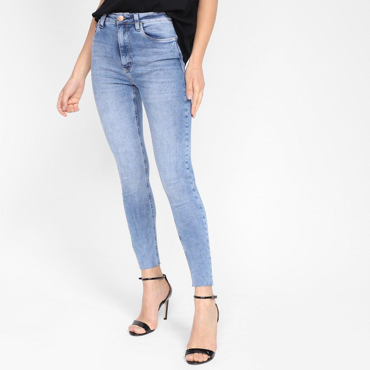 Calça Jeans Skinny All Is Love Estonada Feminina
