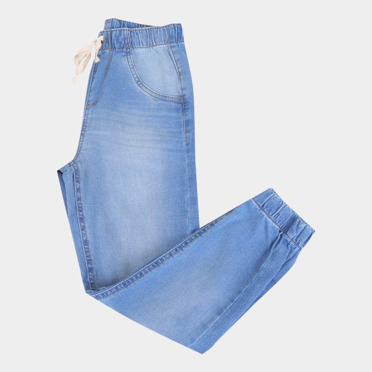 Calça Jeans Jogger Infantil Hering Masculina