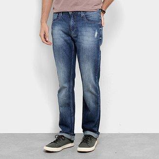981835548 Calça Jeans Reta Zoomp Lowest Ulisses Estonada Masculina