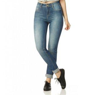 11b7127d61 Calça Jeans Denim Zero Skinny Média Estonada