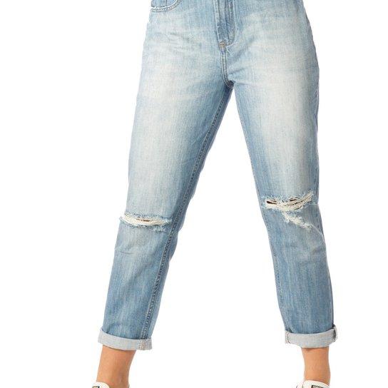 422bc2235f9be Calça Jeans Denim Zero Mom Cintura Alta - Jeans - Compre Agora