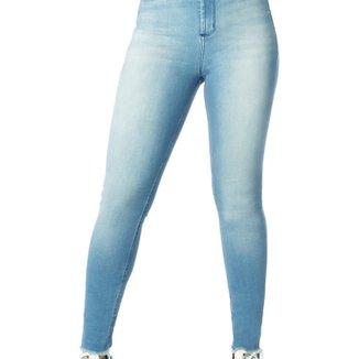 ebfc00305e Calça Jeans Denim Zero Skinny Cintura Alta Mullet
