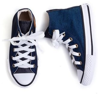 422b107f8 Tênis Infantil Converse All Star Chuck Taylor Jeans