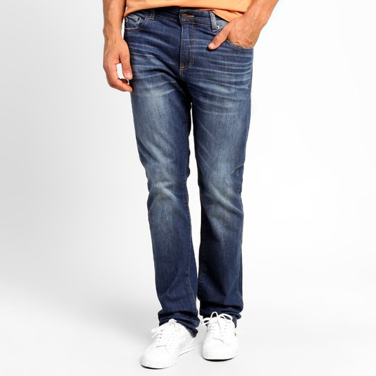 6a7b983395fc5 Calça Jeans Lacoste Slim Fit - Compre Agora