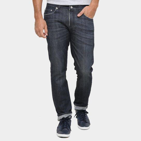 513f3e5ab2bb0 Calça Jeans Lacoste Skinny Escura - Compre Agora